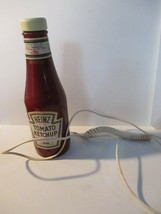Heinz 57 Ketchup Bottle Push Button Telephone Vintage Collectible  - $15.83