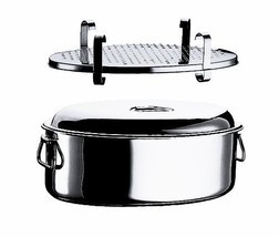 Mepra Oval Casserole with Lid and Grill, 40cm - $208.52