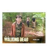 The Walking Dead trading card #22 Pure Joy Carl Grimes - $4.00