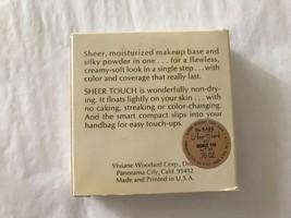 1960's Vivian Woodard  Compact Face Powder, in original box Sheer Touch... - $8.91