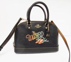 COACH Wizard Of Oz Sierra Satchel Handbag Crossbody Black Ltd Ed 39464 $... - $195.00