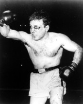 Jake Lamotta 8X10 Photo Boxing Picture Eye - $3.95