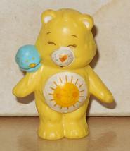 1984 Kenner Care Bears Funshine Bear Mini Pvc Figure Vintage 80's #1 - $14.00