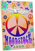 """Pingo World 1223PLSOY9S """"Radio Days 'Woodstock'"""" Gallery Wrapped Canvas Art, 20"""" - $59.35"""