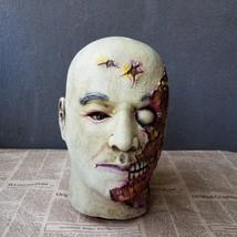 Resident Evil Mask Helmet Halloween Cosplay Season Natural Platex Bad Face - $38.08 CAD