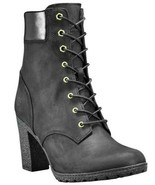 """Women's Timberland GLANCY 6"""" BOOTS, TB08432A 001 Multiple Sizes Black Nu... - $129.95"""
