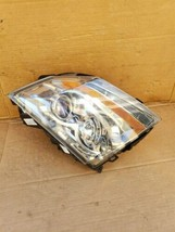 08-13 Cadillac CTS 4 door Sedan Halogen Headlight Lamp Set Passenger Right RH image 2