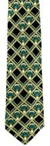 Wine Rack Men's Neck Tie Ralph Marlin Collector Bottles Gift Silk Black ... - $27.67