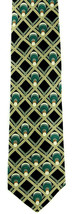 Wine Rack Men's Neck Tie Ralph Marlin Collector Bottles Gift Silk Black Necktie - $27.67