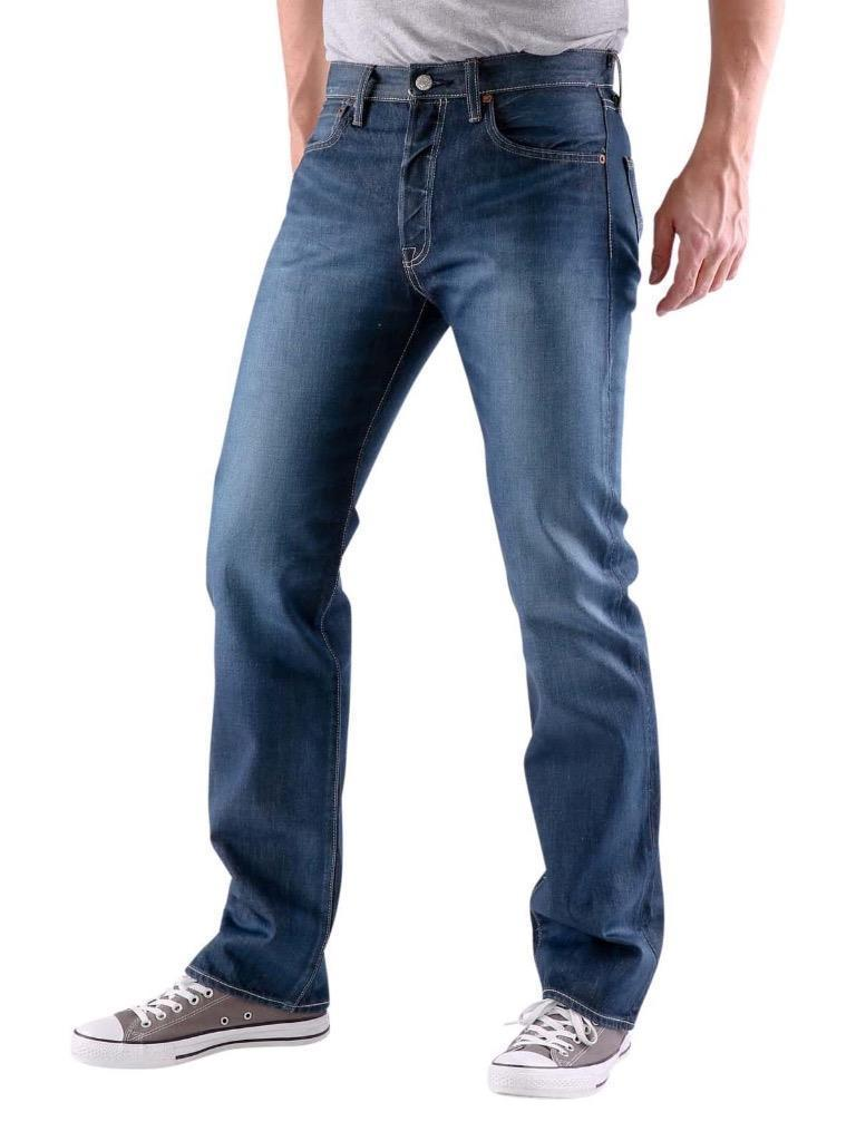 e845c5d5a70 New Levi s Strauss 501 Men s Original Fit Straight Leg Jeans Button ...
