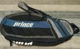 Prince Tennis Multi Racquet Bag Blue / Black With Strap Multi-Pocket - $37.01