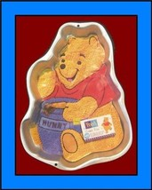 Wilton Cake Pan: Winnie the Pooh Bear with Hunny Pot #2105-3000, 1995 ~ Retired - $23.52