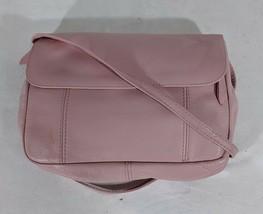 VP VINTAGE 1990's Sabina Leatherwear Light Pink Crossbody Shoulder Bag P... - $9.49