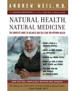 Natural Health, Natural Medicine: The Complete Guide to Wellness and Sel... - $9.95