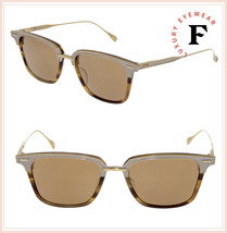 DITA OAK 2085 BT Amber 18K Gold Titanium Antique Mirrored Sunglasses 52mm Unisex - $376.20