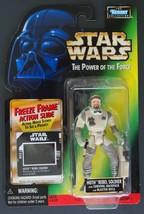 """1997 Kenner Star Wars Potf Hoth Rebel Soldier Freeze Frame Coll 1 4"""" Figure Moc - $12.66"""