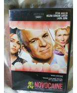 Novocaine DVD, 2001 With Inserts Steve Martin Helena Carter Laura Den - $5.49
