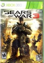 Xbosx 360 - Gears of War 3 - $10.95