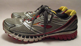 12 Brooks MOGO Mens M Ghost Black VGUC Sneakers Red Heels 5 Neutral 6 dna Silver rwnpgrCIq