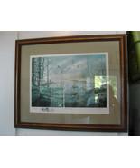 Ken Zylla original print, A Likely Refuge, Commemorative print, framed, ... - $90.25