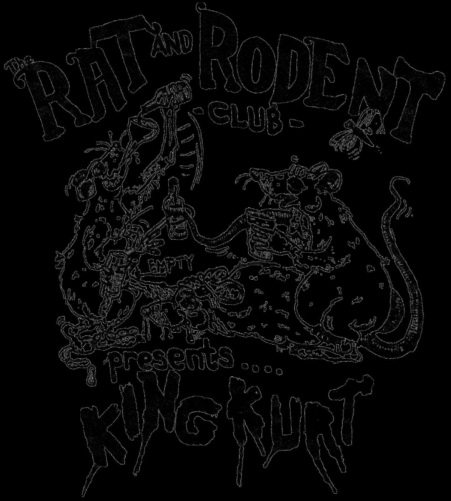 Rat & Rodent Club ladies t-shirt rockabilly psychobilly king kurt cramps punk