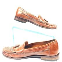 Bostonian Men's 9.5  Brown Leather Upper Penny Loafers w/Tassels - $35.84