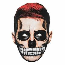 TRIXES Halloween Face Mask Scary Man 2D Fancy Dress  Parties and Trick o... - $4.49