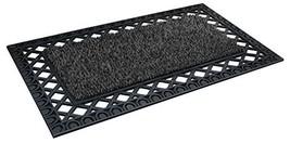 """GrassWorx Clean Machine French Quarter Doormat, 24"""" x 36"""", Flint 10376330 - $34.22"""