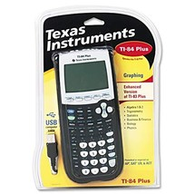 TI-84 PLUS GRAPHING CALCULATOR - $123.18