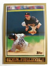 TOPPS 1998 CARD #79 KEVIN POLCOVICH - $0.99