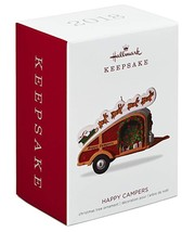 Hallmark: Happy Campers - Classic Tow-Along - Keepsake Ornament 2018 - $16.83