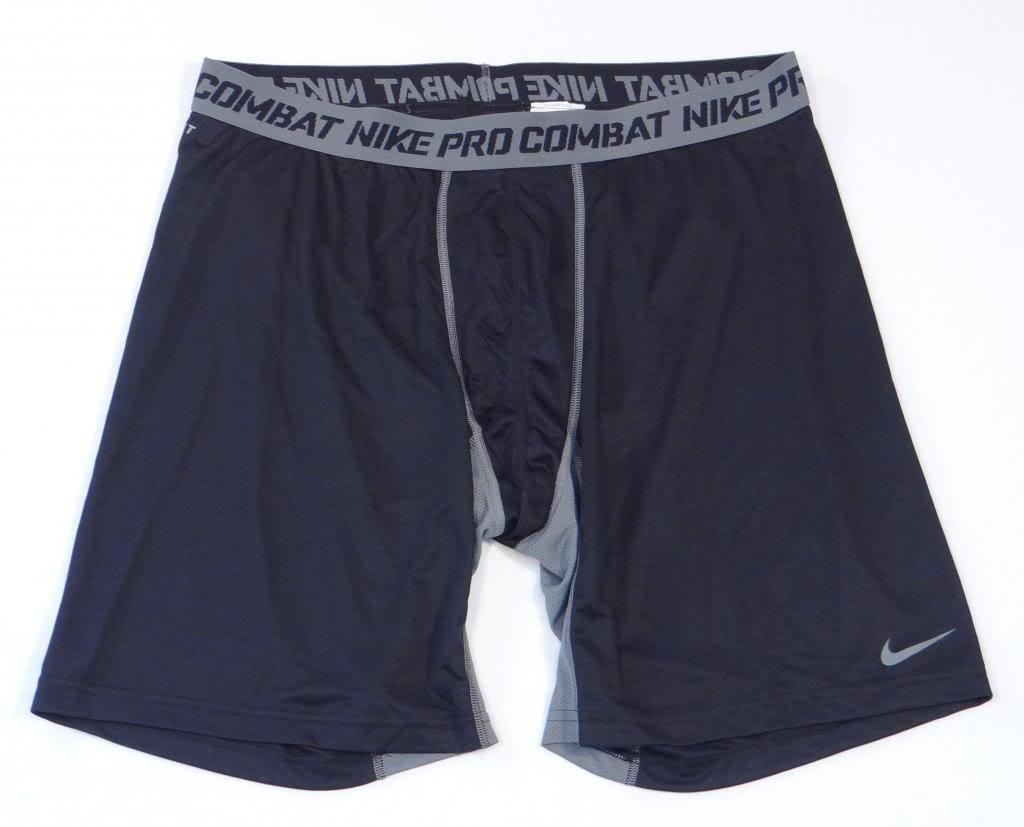 e1fa39256e Nike Pro Combat Dri Fit Black & Gray Fitted and 50 similar items