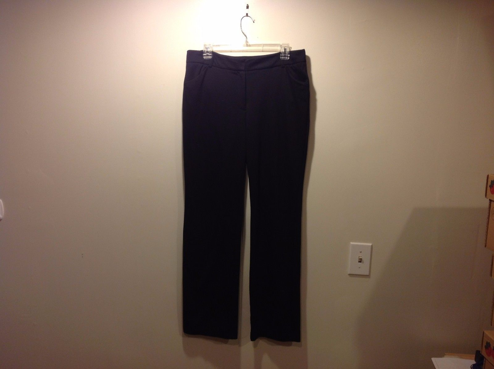 212 Collection Black Casual Dress Pants Sz 12