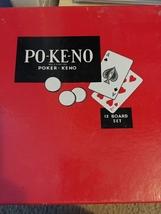 POKENO Poker Keno 12 Board Set Game U.S Playing Cards Co - $9.00
