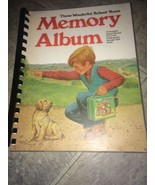 VTG 1975 Those Wonderful School Years Memory Album Book Unused 70s - $14.20