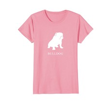 Bulldog Shirt - white silhouette - $19.99+