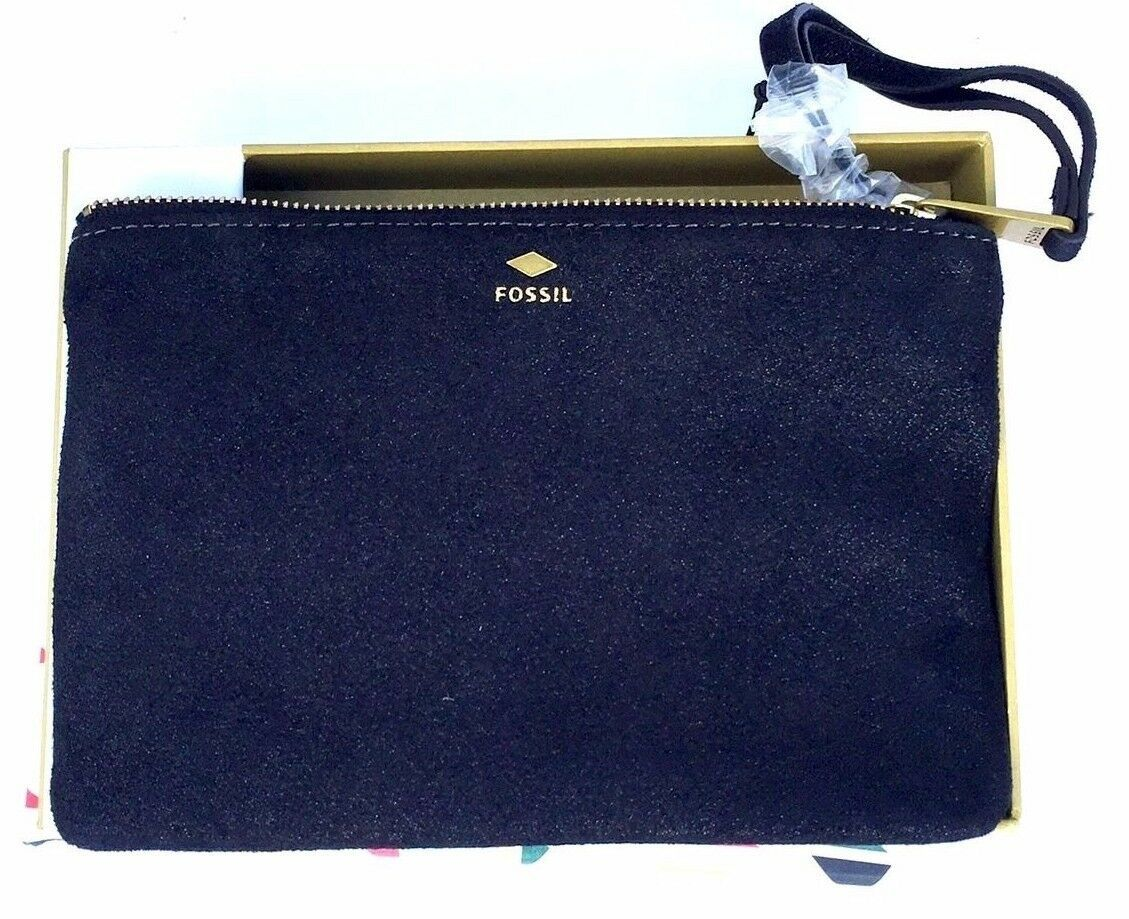 New Fossil Women Gift Small Wristlet Leather Wallet Variety Colors image 5