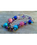 Charm Bracelet For Cosmic Soul Aglignment, Handmade One Of A Kind - $30.00