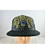 Golden State Warriors Gray Hat Cap NBA 2018 Champs New Era 9Fifty Snapback - $18.80