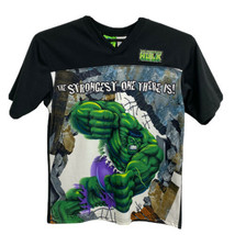 Vintage The Incredible Hulk Marvel Children's Graphic T-Shirt Sz (16/18)... - $22.76