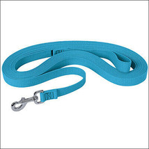 Hurricane Blue Weaver Horse Flat Cotton Lunge Line With Nickel Plated 22... - $25.69