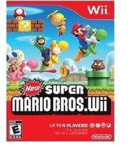 New Super Mario Bros. Wii (Nintendo Wii, 2009) - $18.80