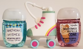 Bath and Body Works pocketbac holder - Roller Skate + 2 hand sanitizer -... - $17.99