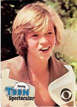 Jimmy Mcnichol teen magazine pinup clippings Tiger Beat Teen Beat Shirtless