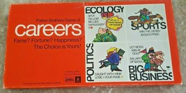 Vintage CAREERS 1971 Parker Brothers Board Game 100% Complete Nice Box Retro  - $23.22