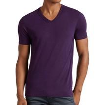 John Varvatos Star USA Men's Short Sleeve V Neck Pintuck Tee Shirt Dark ... - $1.041,68 MXN