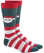 Mens Santa Socks Recycled 1 Pair BAR III $10 - NWT - $4.94