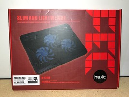 "Havit HV-F2056 15.6""-17"" Laptop Cooler Cooling Pad - Slim Portable USB P... - ₹1,709.56 INR"