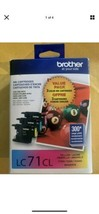 Brother Ink cartridges LC61CL new In box. Cyan, Magenta and Yellow EXP 6... - $34.64