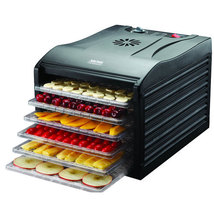 Aroma Professional 6 Tray Black Extra Large Electric Food Dehydrator - £306.94 GBP